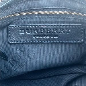 Burberry Bags - Burberry Black pebbled Leather Prorsum